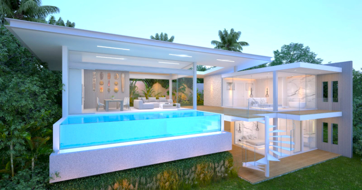 Luxury 3-Bed Sea View Villas on Chaweng Noi Bay