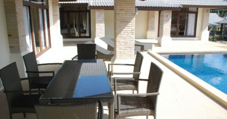 Large Luxury 3 Bedroom Pool Villa on Bophut Hills-4