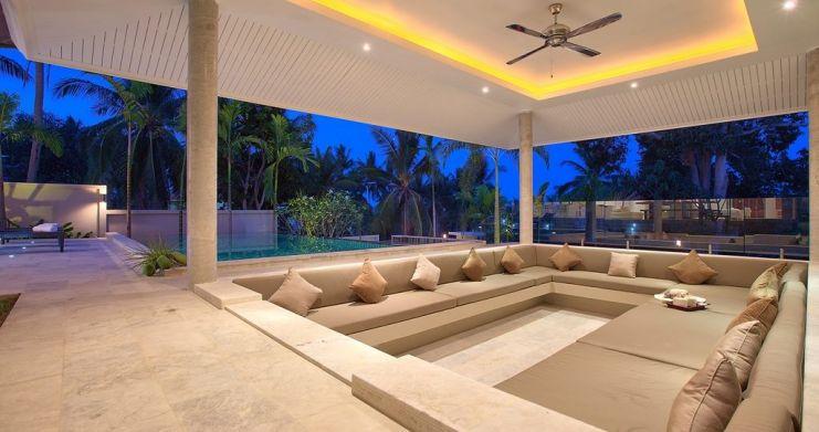 Modern Luxury Private Pool Villas in Peaceful Maenam -13