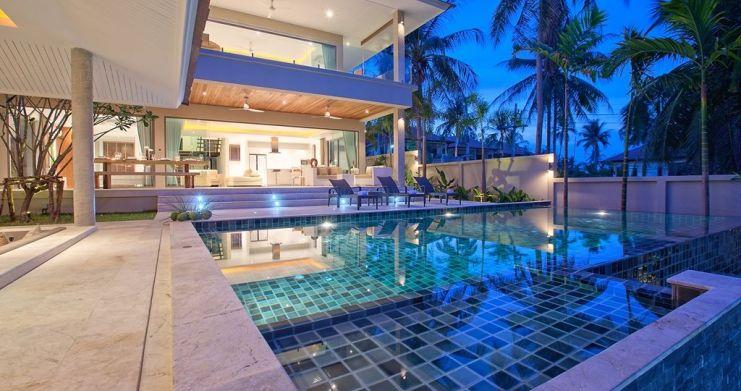 Modern Luxury Private Pool Villas in Peaceful Maenam -12