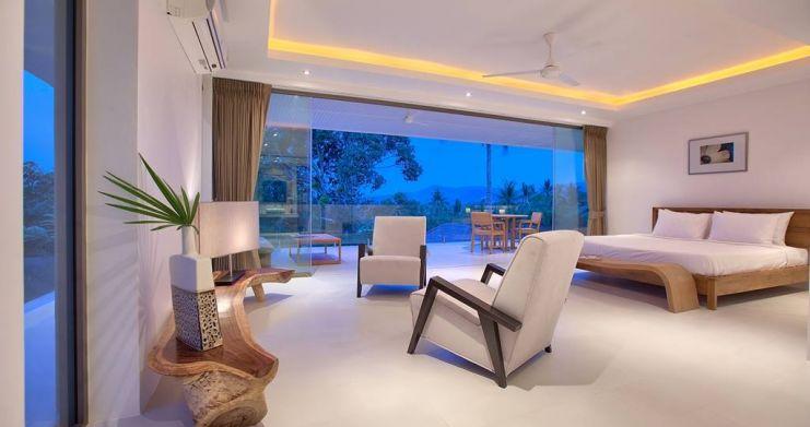Modern Luxury Private Pool Villas in Peaceful Maenam -11
