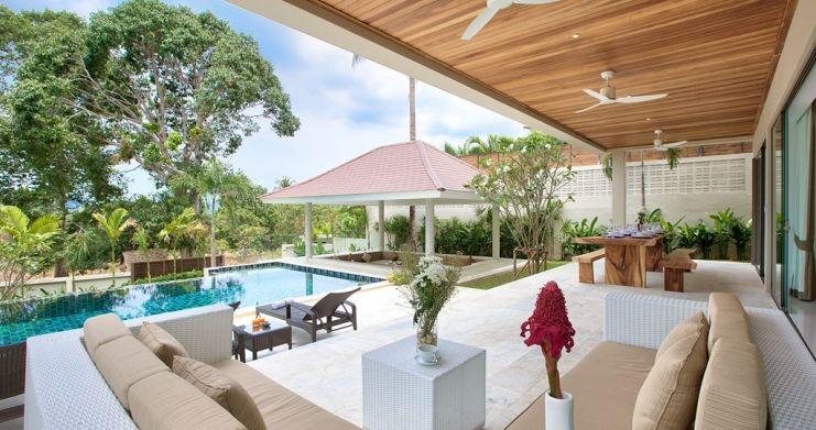 Modern Luxury Private Pool Villas in Peaceful Maenam -4