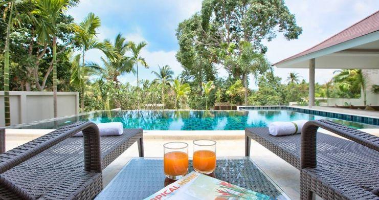 Modern Luxury Private Pool Villas in Peaceful Maenam -6