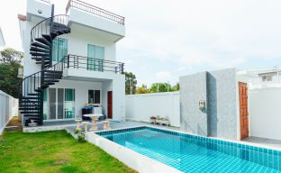 Modern 3 Bedroom Sea View Pool Villas in Bophut