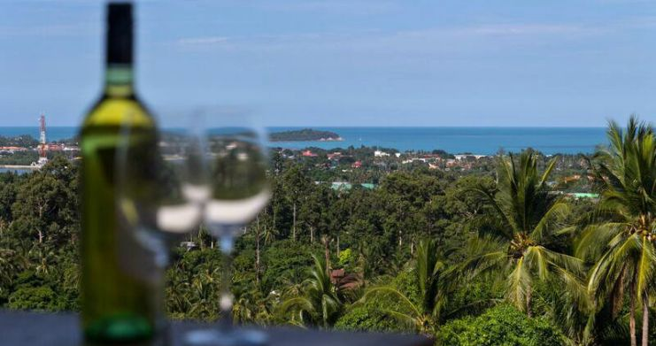 Luxury Sea-View Unique Villa with Pool Bar in Chaweng-8