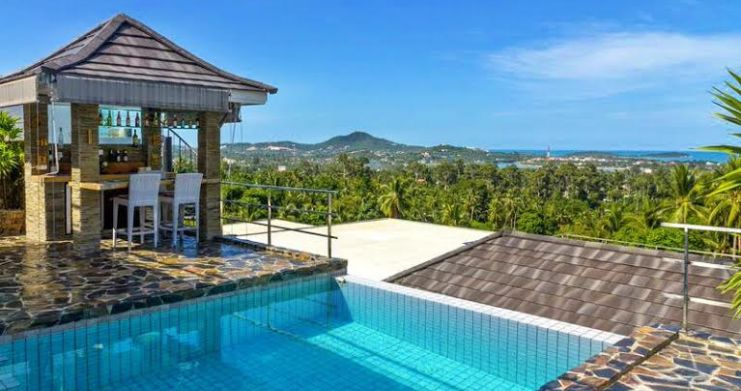 Luxury Sea-View Unique Villa with Pool Bar in Chaweng-1