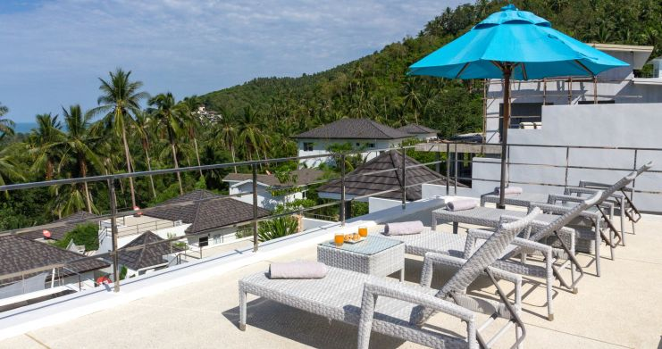 Luxury Sea-View Unique Villa with Pool Bar in Chaweng-12