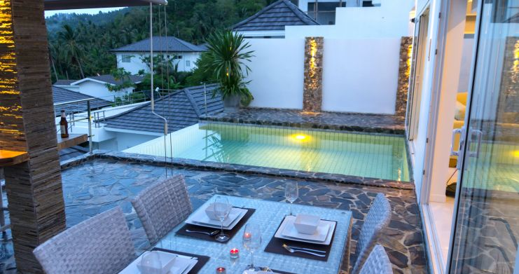 Luxury Sea-View Unique Villa with Pool Bar in Chaweng-7