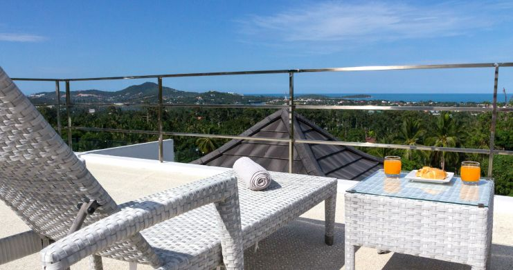 Luxury Sea-View Unique Villa with Pool Bar in Chaweng-10