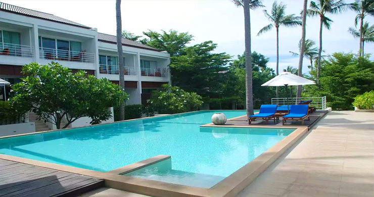 Modern 2 Bedroom Freehold Condo In Choeng Mon-11