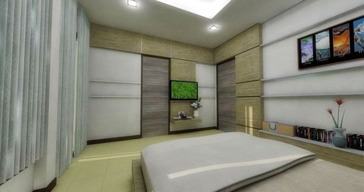 Modern 2 Bedroom Townhouses For Sale in Bophut-10