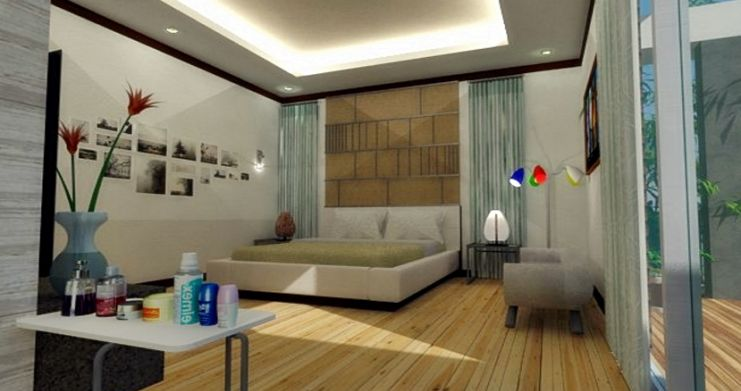 Modern 2 Bedroom Townhouses For Sale in Bophut-11