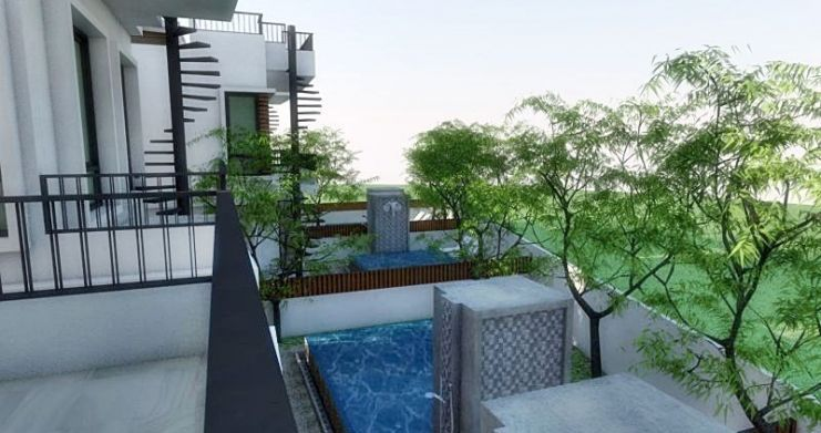 Modern 2 Bedroom Townhouses For Sale in Bophut-3