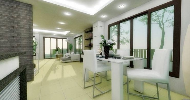 Modern 2 Bedroom Townhouses For Sale in Bophut-9