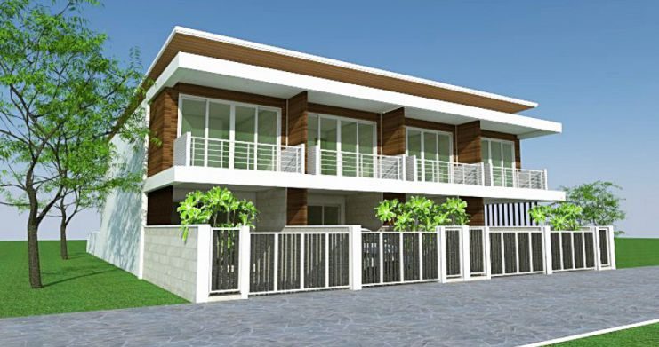 Modern 2 Bedroom Townhouses For Sale in Bophut-1