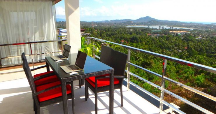 2 bedroom Sea-view Condominium on Chaweng Hillside-1