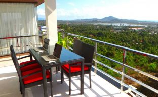 2 bedroom Sea-view Condominium on Chaweng Hillside