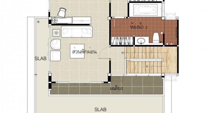 2 Bedroom Modern Villa For Sale In Bophut-6