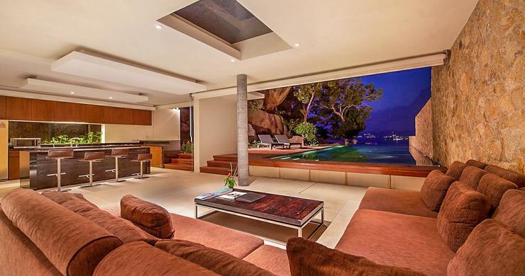 Stunning Ocean Front Villa in Choeng Mon-16