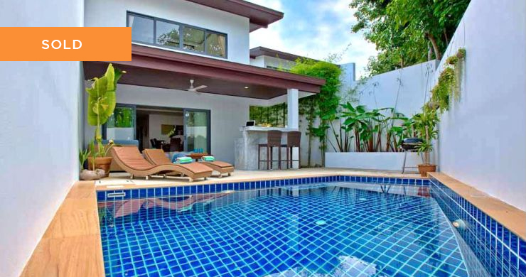 Tropical 3 Bedroom Pool Villa for Sale in Plai Laem-1