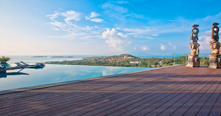 Elegant 8 Bedroom Sea View Villa for Rent in Plai Laem-26