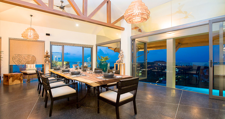 Elegant 8 Bedroom Sea View Villa for Rent in Plai Laem-27