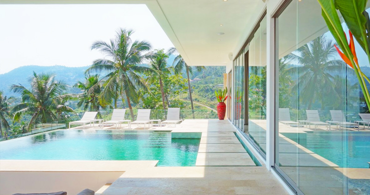Modern Tropical Sea View Villa for Sale in Chaweng Noi-2