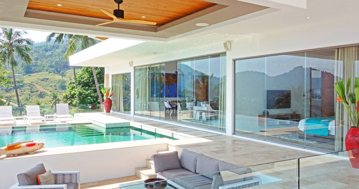 Modern Tropical Sea View Villa for Sale in Chaweng -5