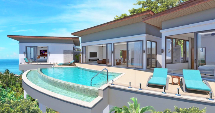Luxury 3 Bedroom Sea View Villa in Chaweng-1
