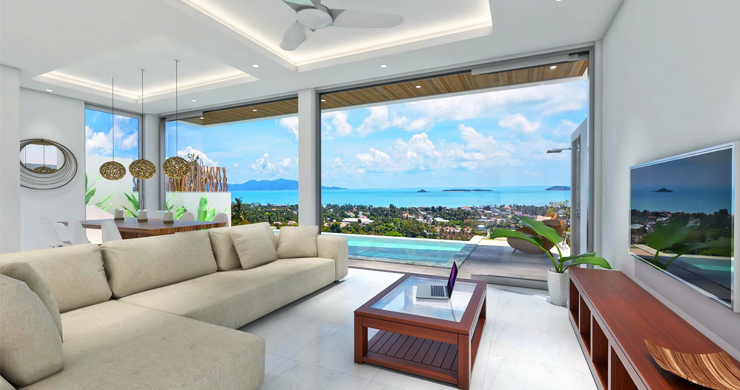 Luxury 3 Bedroom Sea View Villa in Chaweng-2