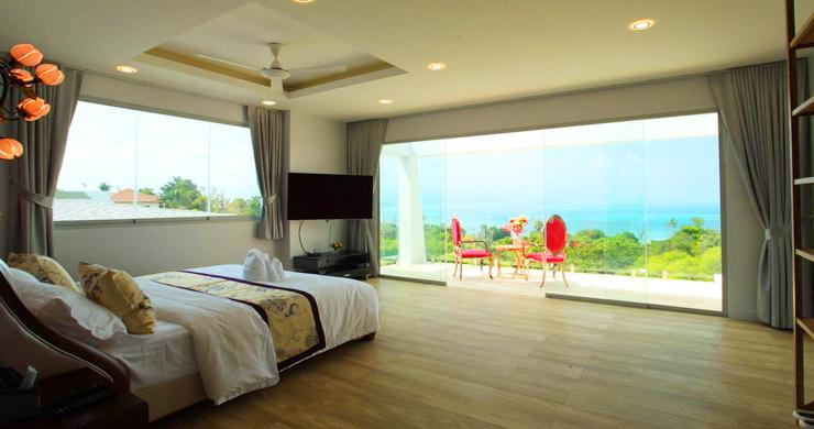 New Luxury Sea View Duplex Villa for Sale in Plai Laem-12