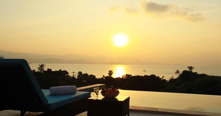 New Luxury Sea View Duplex Villa for Sale in Plai Laem-18