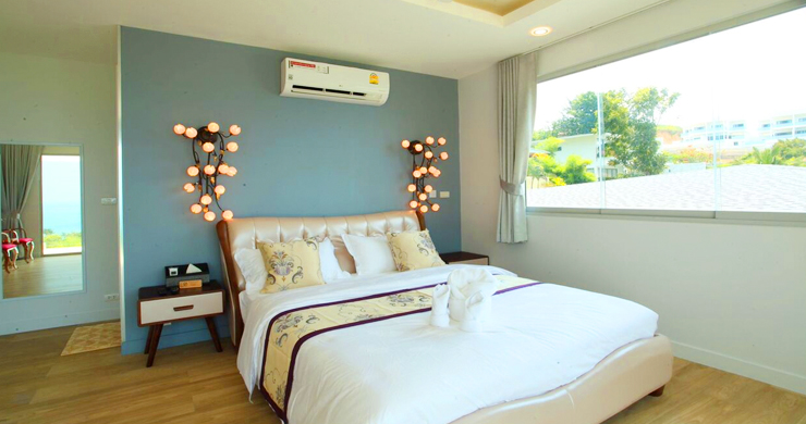 New Luxury Sea View Duplex Villa for Sale in Plai Laem-11