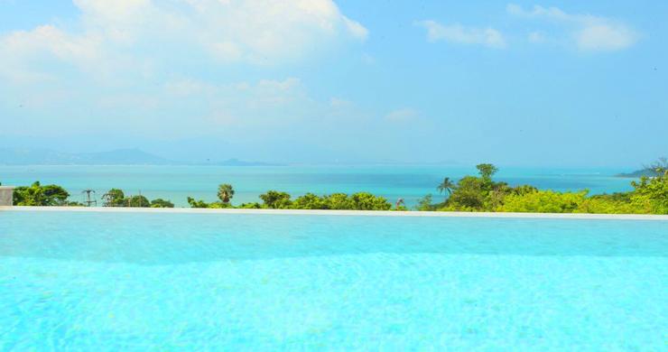 New Luxury Sea View Duplex Villa for Sale in Plai Laem-16