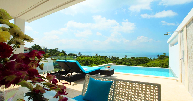 New Luxury Sea View Duplex Villa for Sale in Plai Laem-15